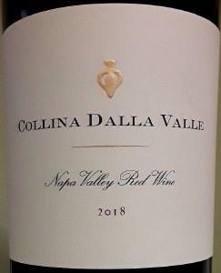 Dalla Valle Collina Napa Valley Red 2018 (750ML)