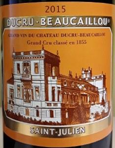 Chateau Ducru Beacauillou St.Julien Bordeaux 2015 (750ML)