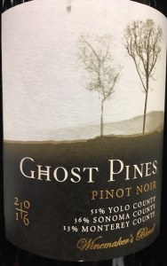 Ghost Pines Winemaker's Blend Pinot Noir 2016 (750ML)