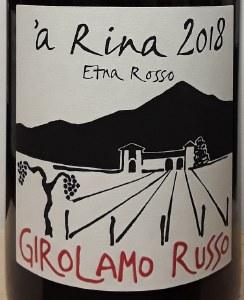 Girolamo Russo Etna Rosso 'a Rina 2018 (750ml)