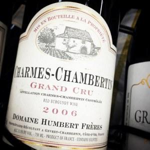Humbert Freres Gevrey-Chambertin Grand Cru 'Charmes-Chambertin' 2006 (750ML)