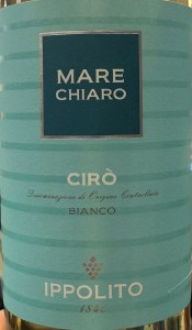 Ippolito Ciro White Mare Chiaro 2018 (750ml)