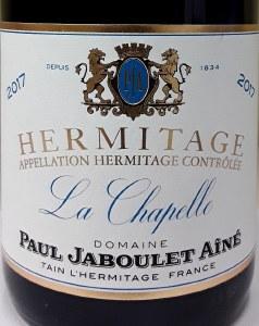 Paul Jaboulet Hermitage La Chapelle 2017 (750ml)