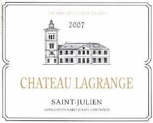 Chateau Lagrange Saint Julien 2018 (Pre-Arrival) (750ml)