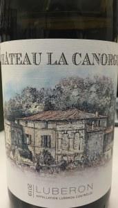 Chateau la Canorgue Luberon Blanc 2019 (750ML)