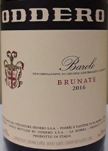 Oddero Brunate Barolo 2016 (750ML)