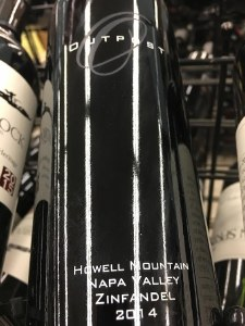 Outpost Zinfandel Howell 2014 (750ML)