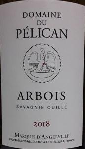 Domaine du Pelican Arbois Savagnin Ouille 2018 (750ml)