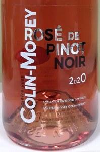 Pierre-Yves Colin-Morey Rose de Pinot Noir 2020