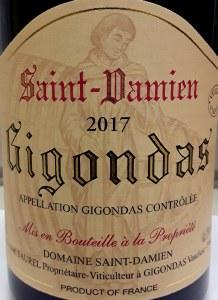 Domaine Saint Damien Gigondas Vieilles Vignes 2017 (750ml)