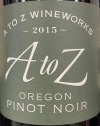A to Z Pinot Noir 2015 (750ML)