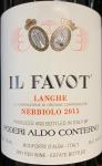 Aldo Conterno Il Favot Langhe Nebbiolo 2015 (750ml)