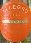 Allegro Moscato California 2017 (750ml)