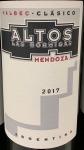 Altos Las Hormigas 'Clasico' Malbec Mendoza  2017 (750ML)