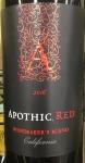 Apothic Red Blend California 2016 (750ml)