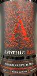 Apothic Red Blend California 2017 (750ml)