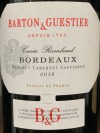 Barton & Guestier 'B & G' Bordeaux Rouge Passport 2019 (750ml)