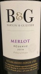 Barton & Guestier 'B & G' Bordeaux Merlot  (1.5L)