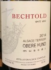 Domaine Bechtold Muscat Obere Hund 2014 (750ml)