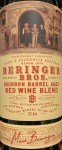Beringer Bros Red Blend Bourbon Barrel Aged 2016 (.750L)