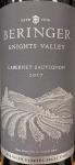 Beringer Cabernet Sauvignon Knights Valley Sonoma 2017