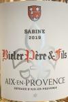 Bieler Pere et Fils 'Cuvee Sabine' Coteaux d'Aix en Provence Rose 2019 (750ML)