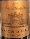 Blasson d'Issan Margaux 2016 (750ml)