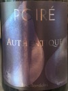 Eric Bordelet Poire Authentique 2018(750ML)