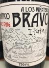 A Los Vinateros Bravos Canto a lo Divino Cinsault 2018 (750ml)