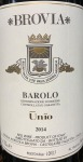 Brovia Barolo Unio 2014 (750ML)