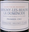 Domaine Bruno Clair Savigny Les Beaune 1er Cru La Dominode 2015 (750ml)