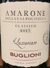 Buglioni Amorone della Valpolicella Classico L'Amarone Il Lussurioso 2015 (750ml)