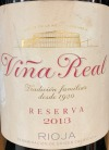 CVNE 'Vina Real' Reserva 2012 (750ML)