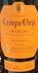 Campo Viejo Rioja Reserva Red 2014 (750ML)