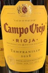 Campo Viejo Rioja Tempranillo Red 2016 (750ML)