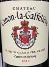 Chateau Canon La Gaffeliere St. Emilion 2016 (750ml)