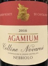 Cantalupo 'Agamium' Colline Novaresi 2016 (750ml)