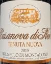 Casanova di Neri Tenuta Nuova Brunello di Montalcino 2015 (750ml)