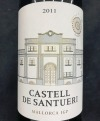 Castell De Santueri Negre 2011 (.750L)