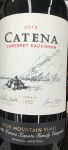 Catena 'High Mountain Vines' Cabernet Sauvignon Mendoza 2016 (750ml)