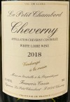 Francois Cazin 'Le Petit Chambord' Cheverny Blanc 2018 (750ml)