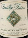 Domaine du Chalet Pouilly Pouilly-Fuissé 2016 (750ml)