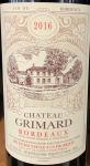 Chateau Grimard Bordeaux AC 2016