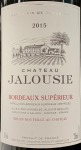 Chateau Jalousie Bordeaux Superiore 2015 (750ml)