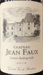 Chateau Jean Faux Bordeaux Superieur 2014 (750ml)