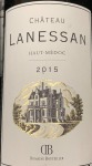 Chateau Lanessan Haut Medoc 2015 (750ml)