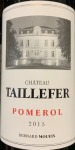 Chateau Taillefer Pomerol Red 2015 (750ml)