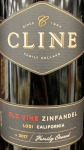 Cline Old Vine California Zinfandel 2017(750ML)