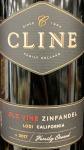 Cline Old Vine California Zinfandel 2018(750ML)