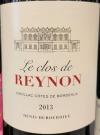 Clos de Reynon Cadillac Cotes de Bordeaux 2013 (750ml)